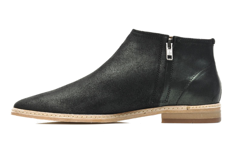Boots en enkellaarsjes H By Hudson Shift Zwart voorkant