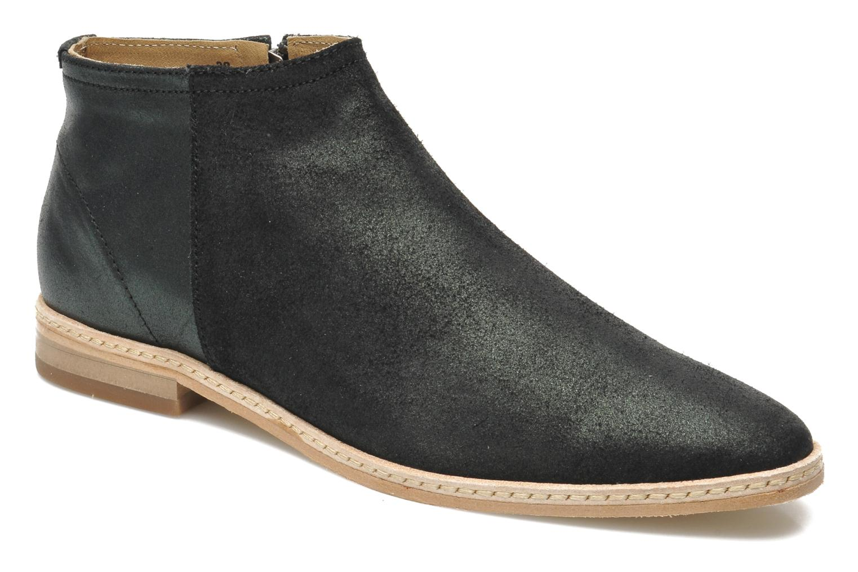 Boots en enkellaarsjes H By Hudson Shift Zwart detail