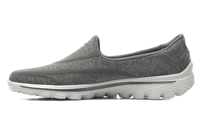 Sneakers Skechers Go Walk 2 Super Sock 13955 Grijs voorkant
