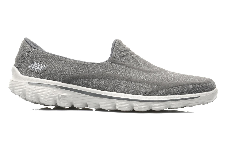 Sneakers Skechers Go Walk 2 Super Sock 13955 Grijs achterkant