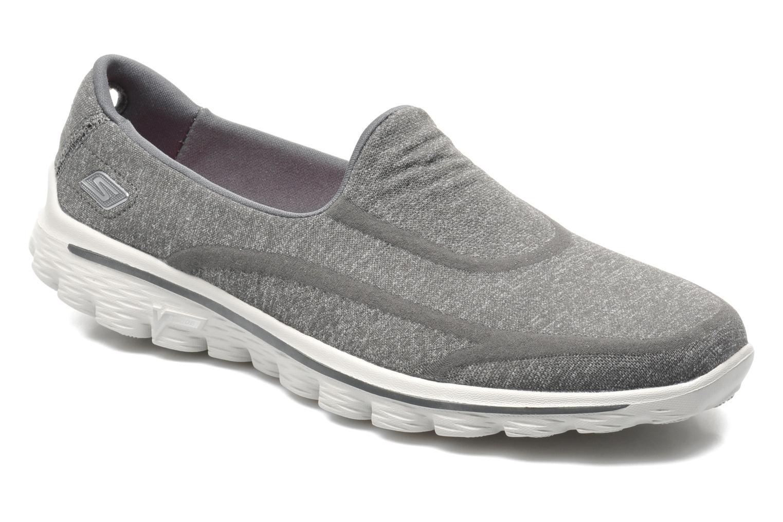 Sneakers Skechers Go Walk 2 Super Sock 13955 Grijs detail