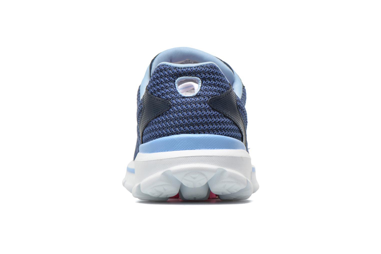 Baskets Skechers Go Walk 3 FitKnit 13981 Bleu vue droite