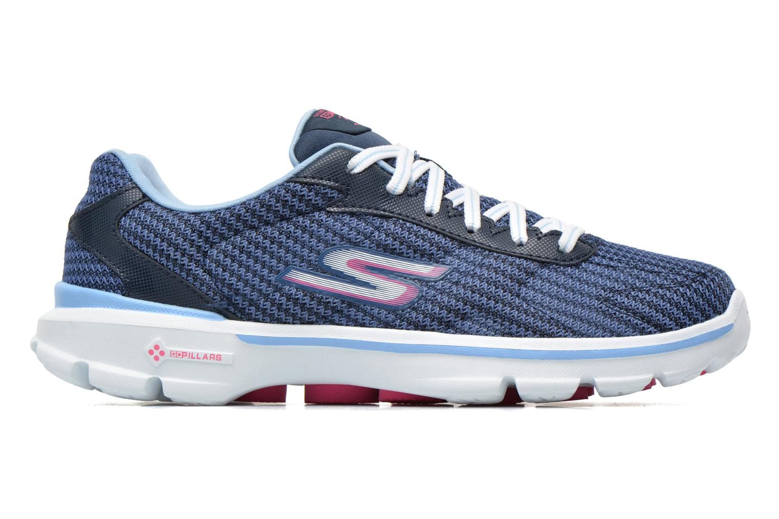 Go Walk 3 FitKnit 13981 Navy Light blue