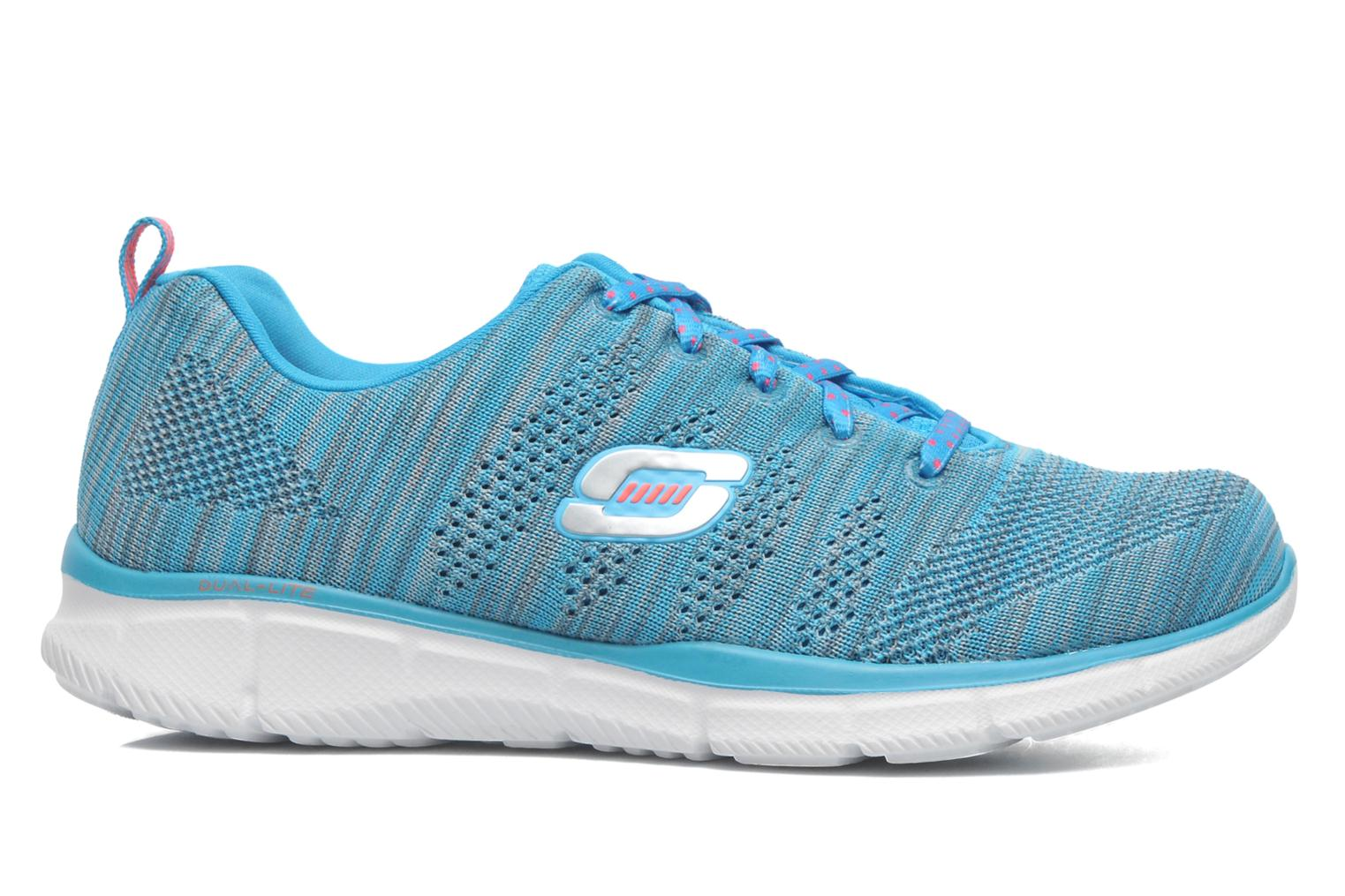 Sneakers Skechers Equalizer First Rate 12033 Blauw achterkant