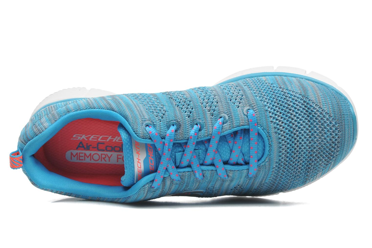 Sneakers Skechers Equalizer First Rate 12033 Blauw links