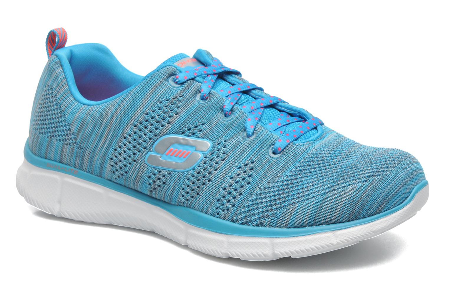 Sneakers Skechers Equalizer First Rate 12033 Blauw detail