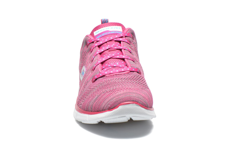 Sneaker Skechers Equalizer First Rate 12033 rosa schuhe getragen
