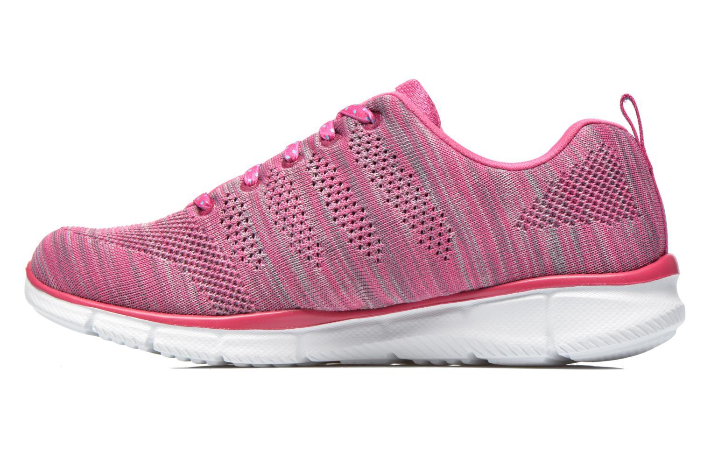 Sneaker Skechers Equalizer First Rate 12033 rosa ansicht von vorne