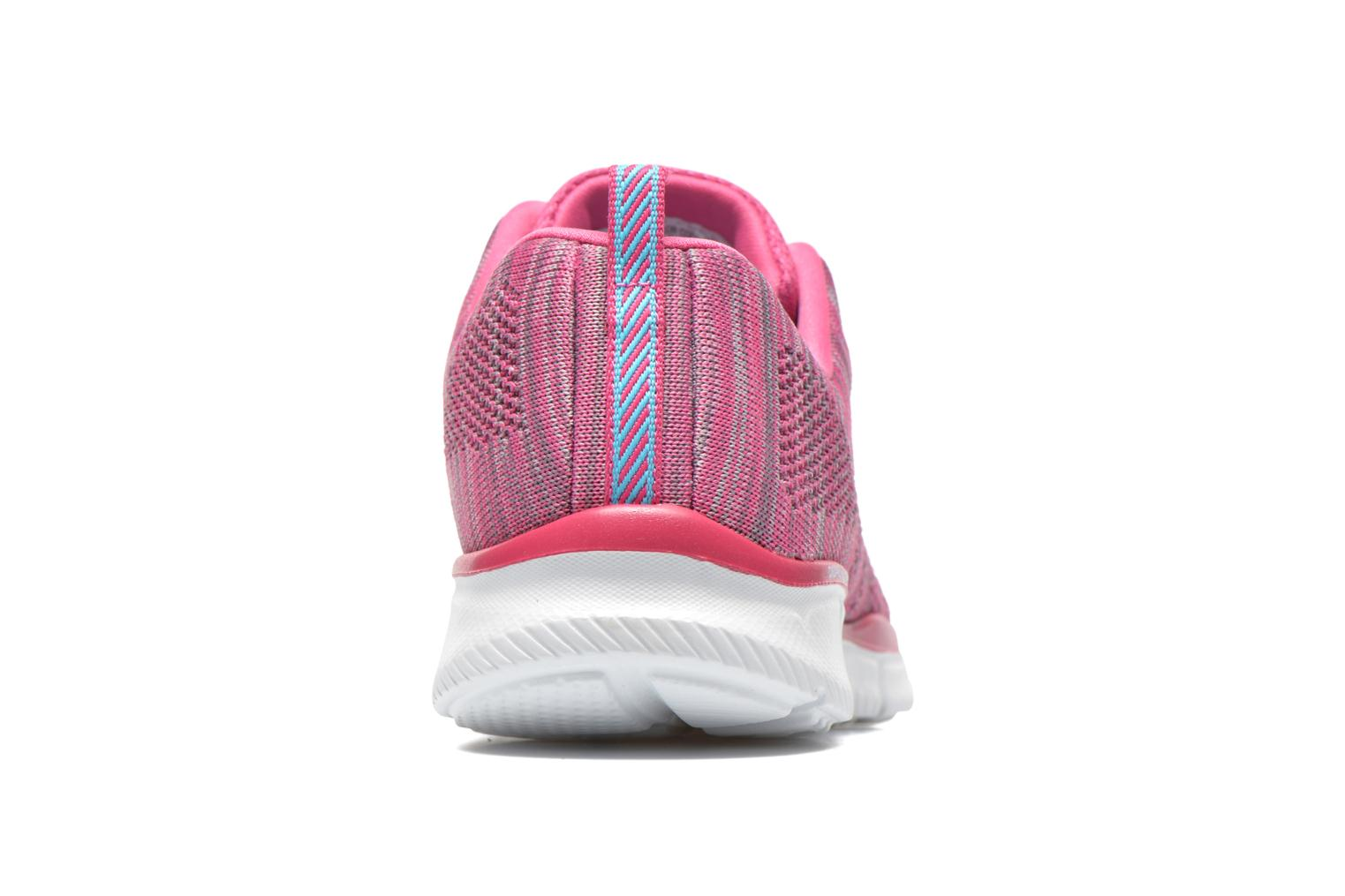 Baskets Skechers Equalizer First Rate 12033 Rose vue droite