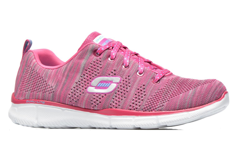 Sneaker Skechers Equalizer First Rate 12033 rosa ansicht von hinten