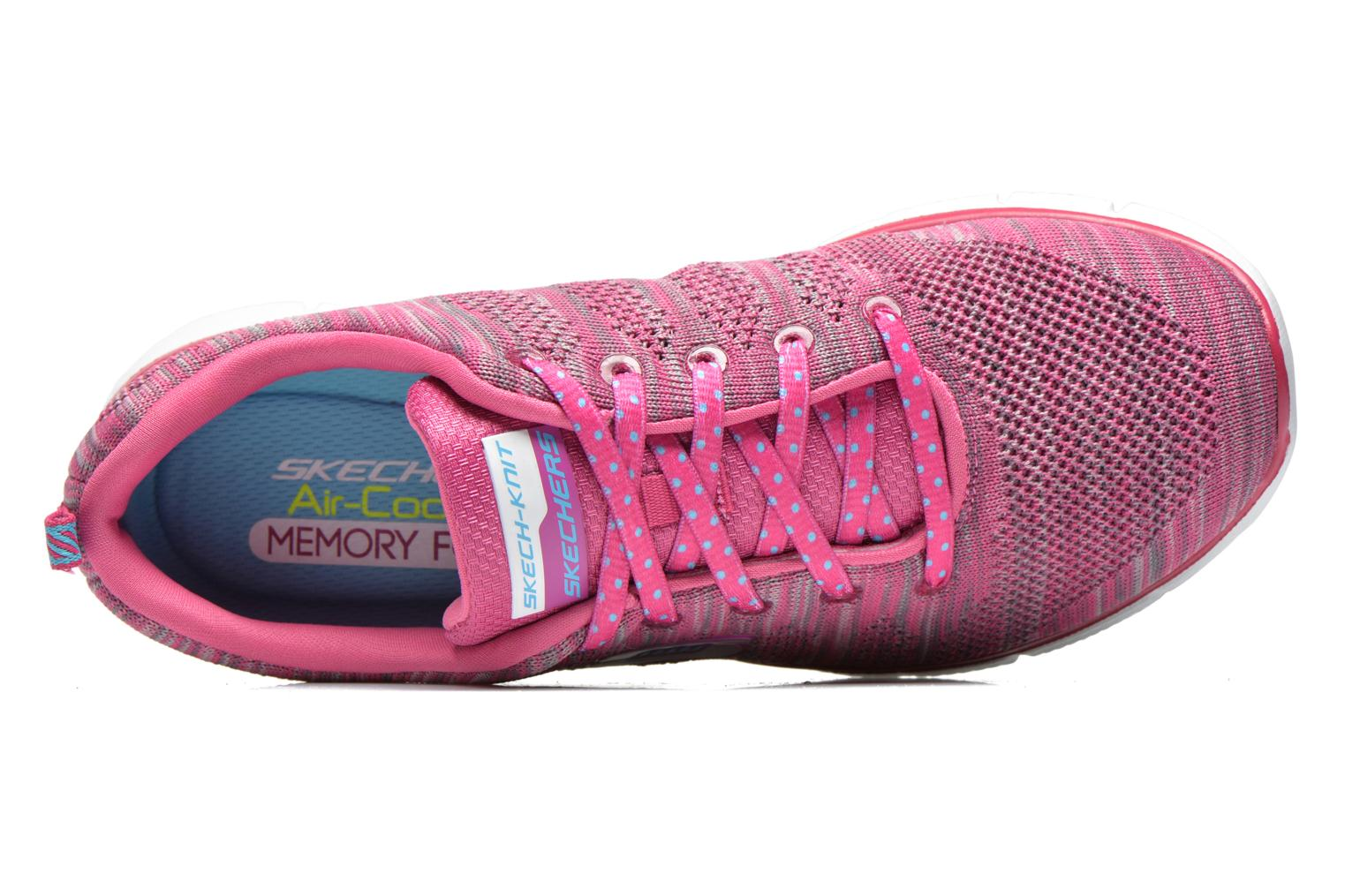 Baskets Skechers Equalizer First Rate 12033 Rose vue gauche