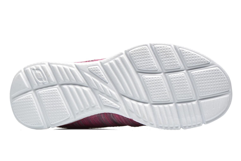 Sneaker Skechers Equalizer First Rate 12033 rosa ansicht von oben