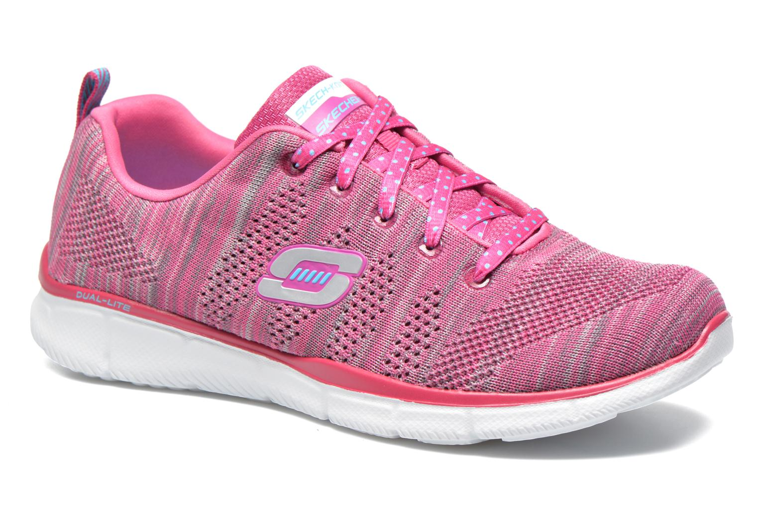 Baskets Skechers Equalizer First Rate 12033 Rose vue détail/paire