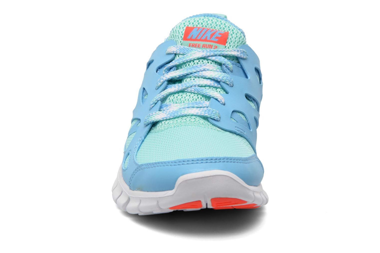 Sneakers Nike NIKE FREE RUN 2 (GS) Multicolore modello indossato