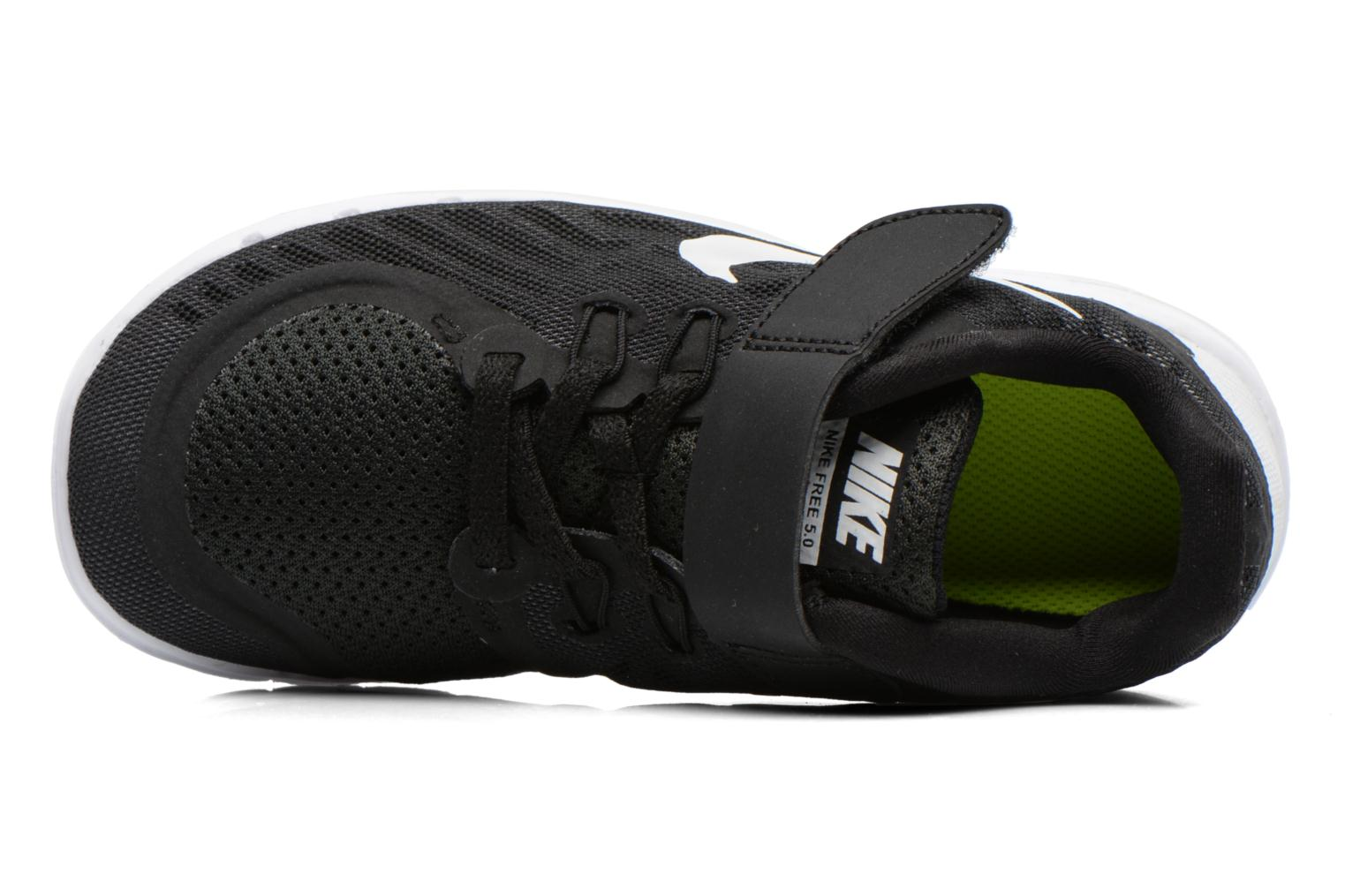 Trainers Nike NIKE FREE 5 (PSV) Black view from the left