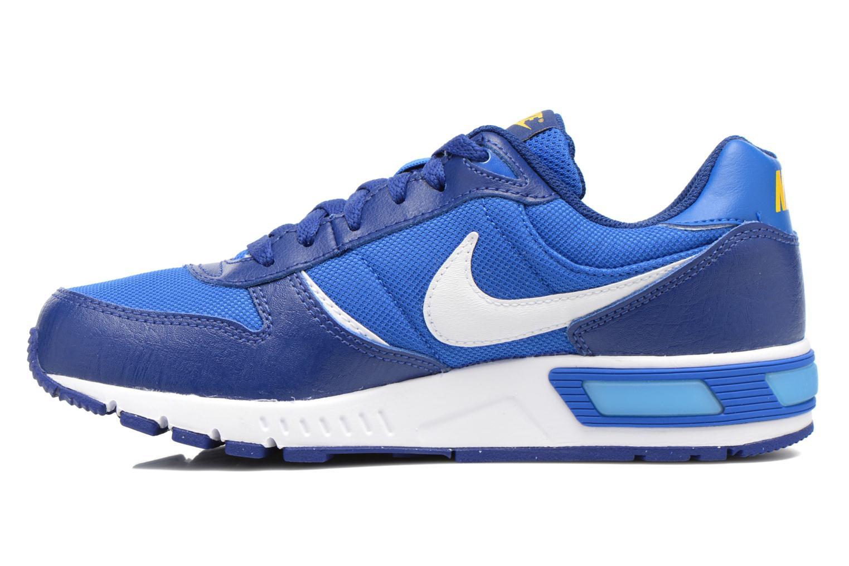Sneaker Nike NIKE NIGHTGAZER (GS) blau ansicht von vorne