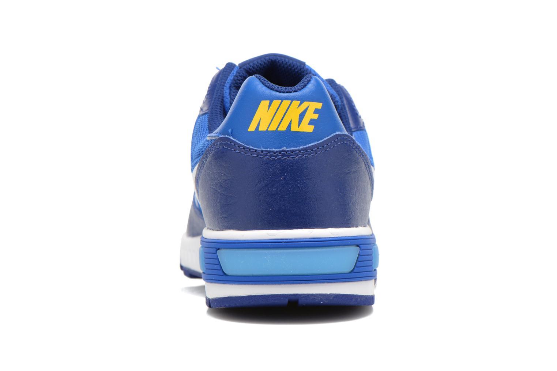 Sneaker Nike NIKE NIGHTGAZER (GS) blau ansicht von rechts