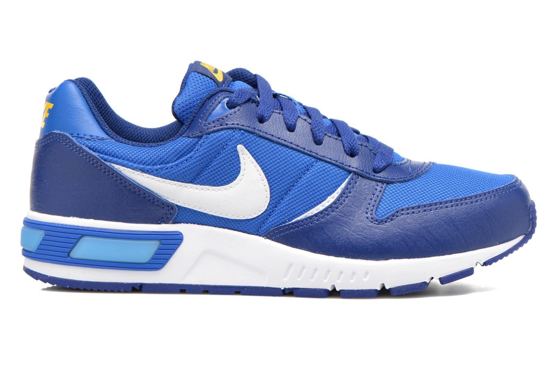 Sneaker Nike NIKE NIGHTGAZER (GS) blau ansicht von hinten