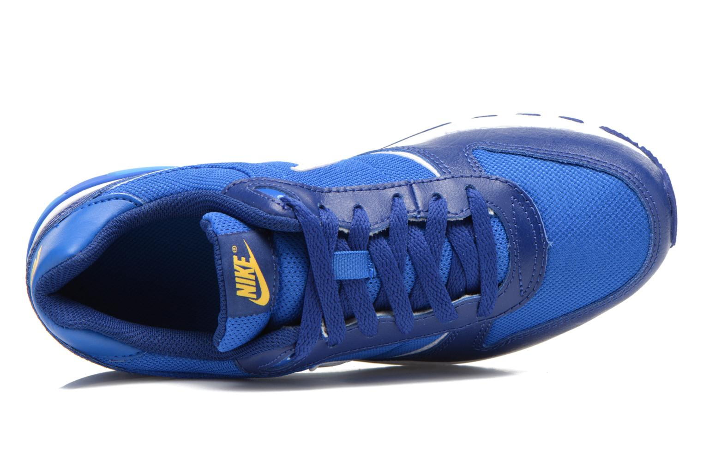 Sneaker Nike NIKE NIGHTGAZER (GS) blau ansicht von links
