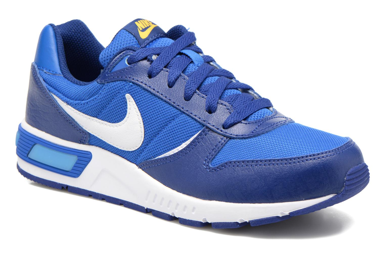 NIKE NIGHTGAZER (GS) Deep Royal Blue/Wht-Hypr Cblt