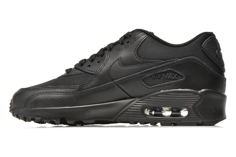 Sneakers Nike NIKE AIR MAX 90 MESH (GS) Zwart voorkant