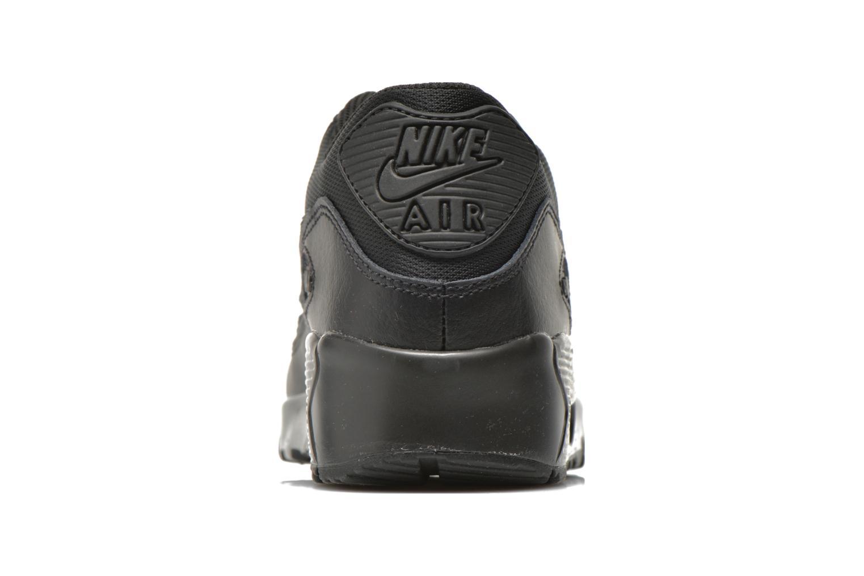 Baskets Nike NIKE AIR MAX 90 MESH (GS) Noir vue droite