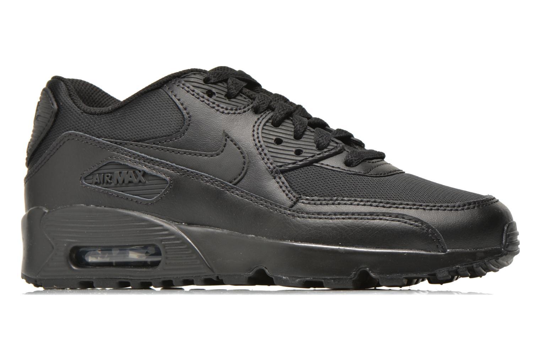 Trainers Nike NIKE AIR MAX 90 MESH (GS) Black back view