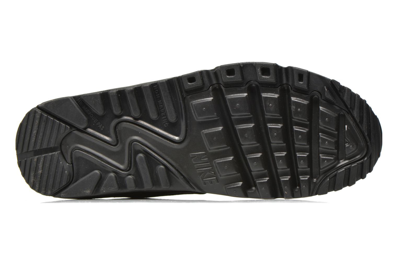 Baskets Nike NIKE AIR MAX 90 MESH (GS) Noir vue haut