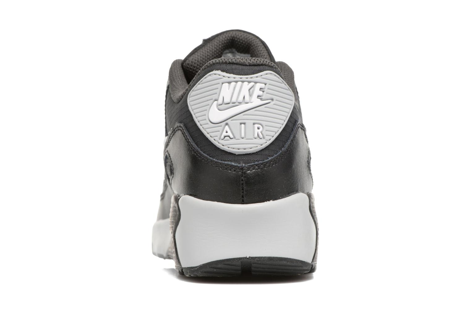 NIKE AIR MAX 90 MESH (GS) Black/White-Anthracite-Wolf Grey