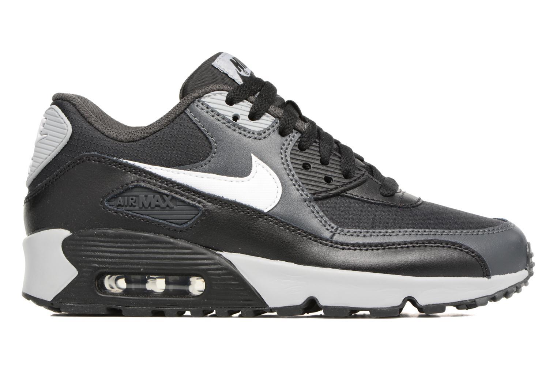 Sneaker Nike NIKE AIR MAX 90 MESH (GS) schwarz ansicht von hinten
