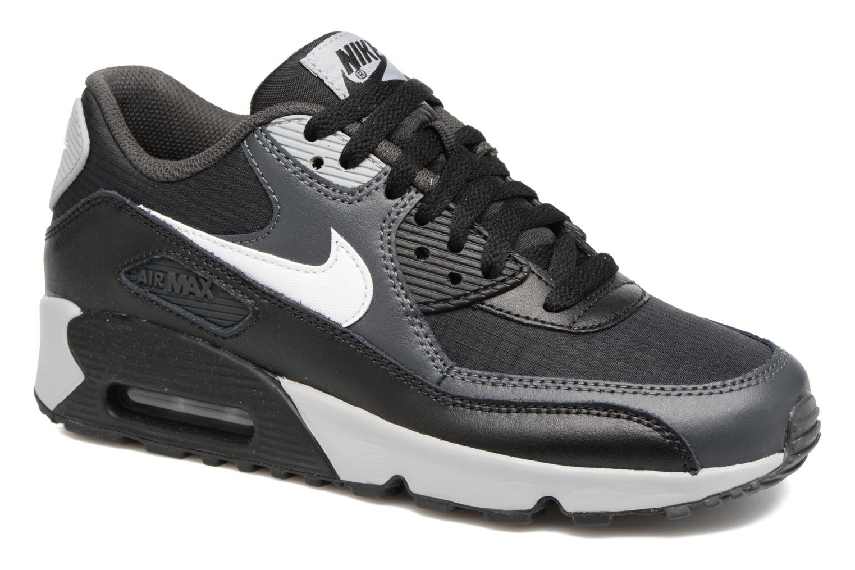Sneaker Nike NIKE AIR MAX 90 MESH (GS) schwarz detaillierte ansicht/modell