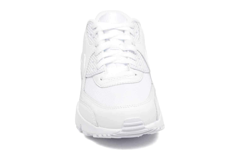 Sneaker Nike NIKE AIR MAX 90 MESH (GS) weiß schuhe getragen