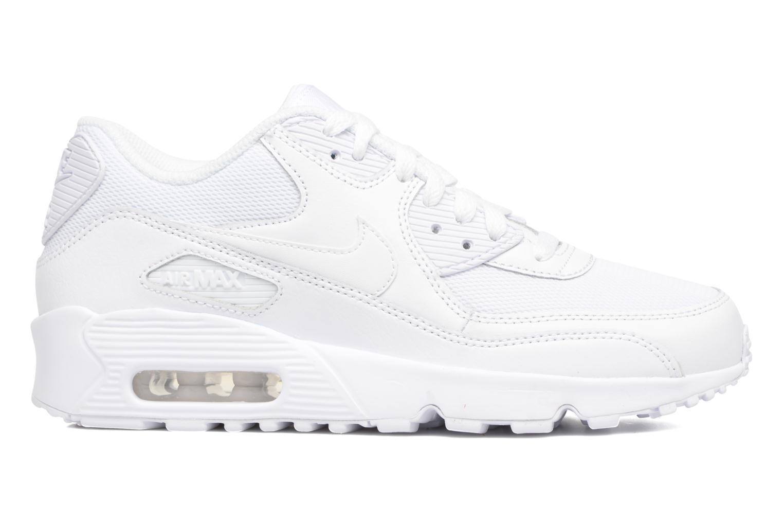 Sneaker Nike NIKE AIR MAX 90 MESH (GS) weiß ansicht von hinten