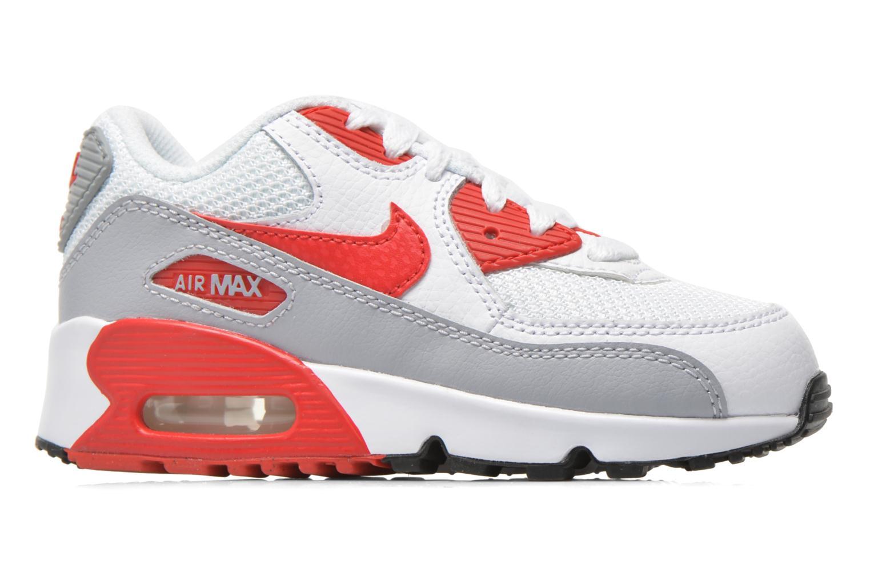 Sneaker Nike NIKE AIR MAX 90 MESH (PS) weiß ansicht von hinten