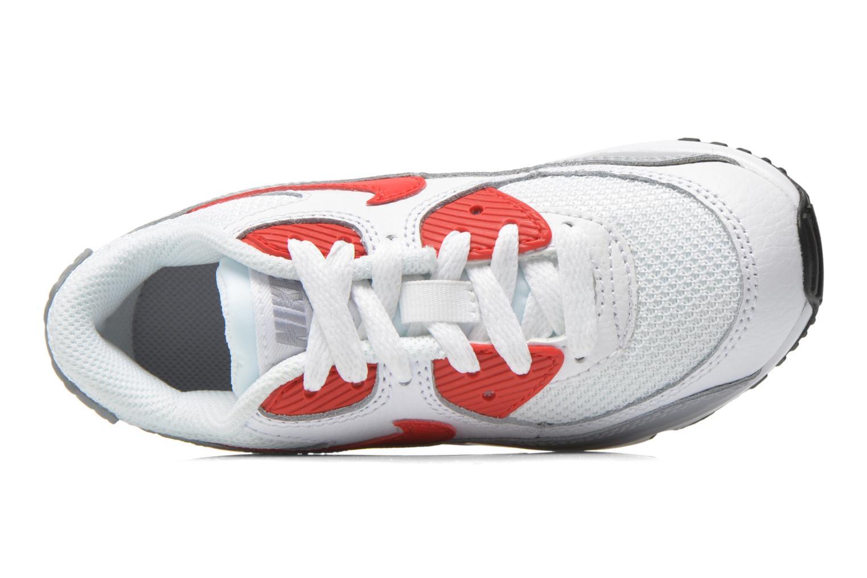 Sneaker Nike NIKE AIR MAX 90 MESH (PS) weiß ansicht von links