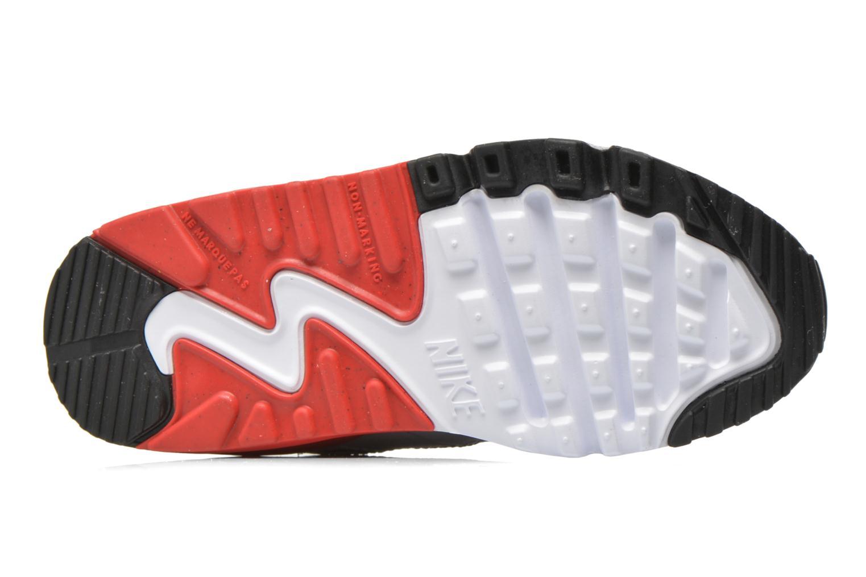Baskets Nike NIKE AIR MAX 90 MESH (PS) Blanc vue haut