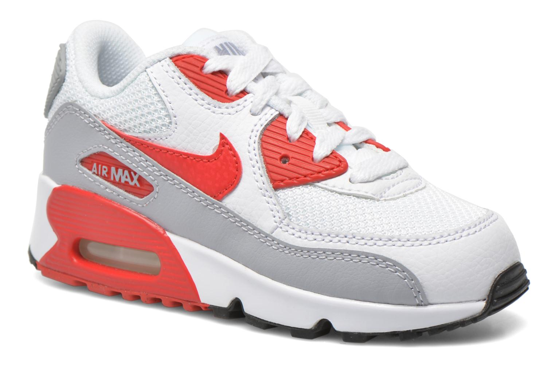 Sneaker Nike NIKE AIR MAX 90 MESH (PS) weiß detaillierte ansicht/modell