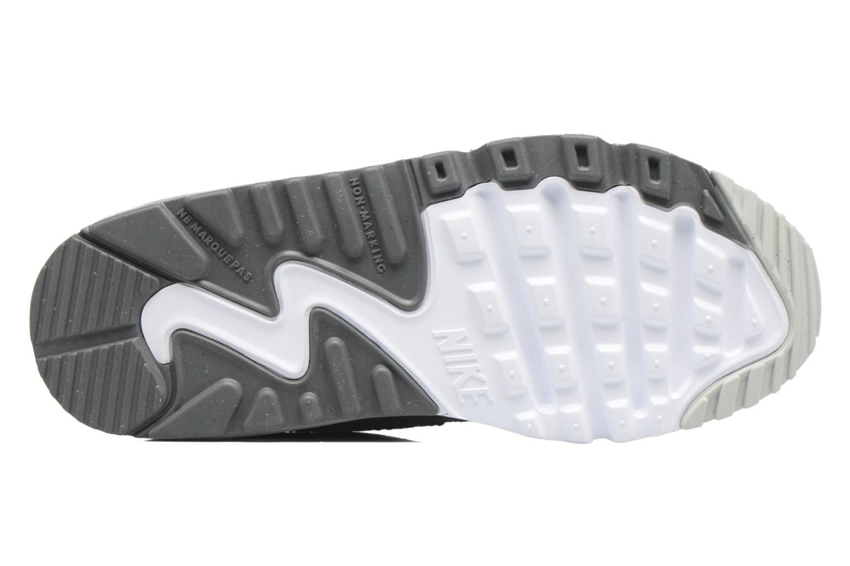 Baskets Nike NIKE AIR MAX 90 MESH (PS) Gris vue haut