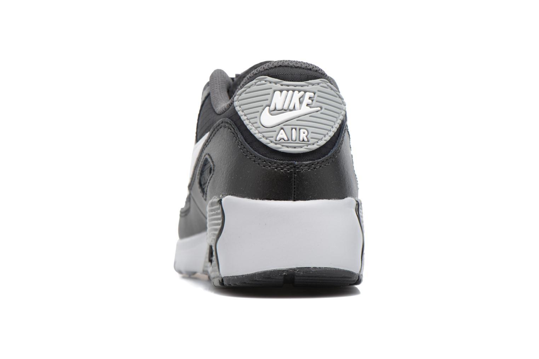 Baskets Nike NIKE AIR MAX 90 MESH (PS) Noir vue droite