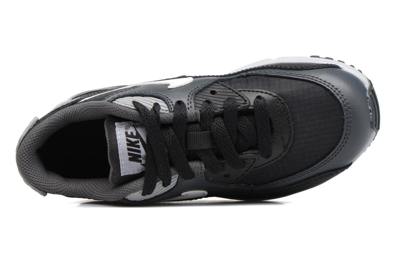 NIKE AIR MAX 90 MESH (PS) Black/White-Anthracite-Wolf Grey