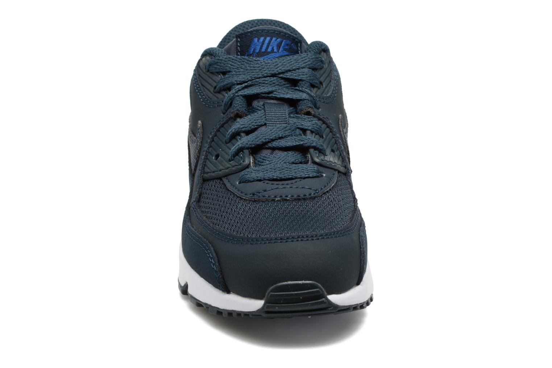Baskets Nike NIKE AIR MAX 90 MESH (PS) Bleu vue portées chaussures