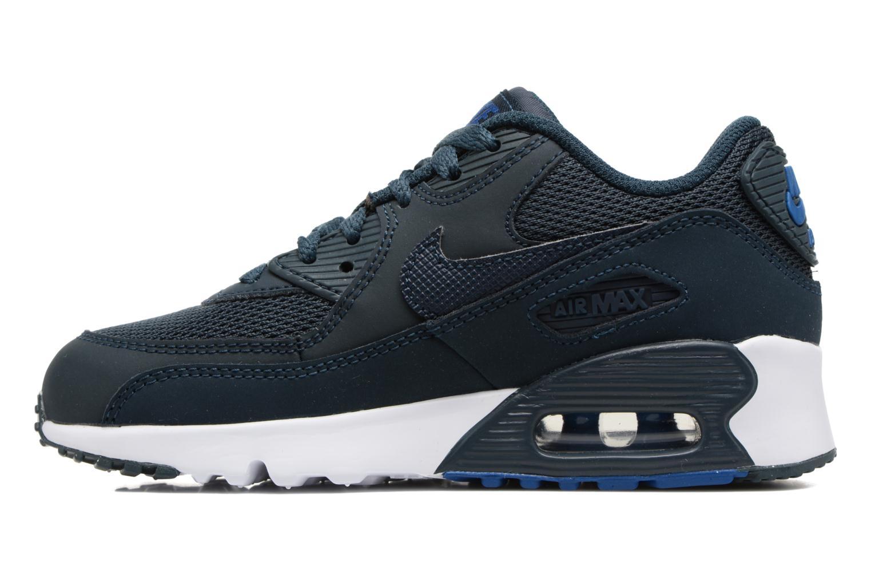 Deportivas Nike NIKE AIR MAX 90 MESH (PS) Azul vista de frente