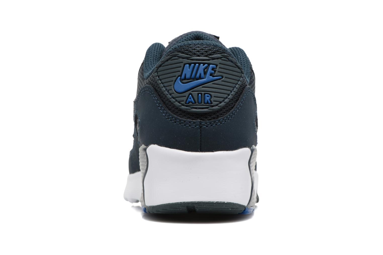 Baskets Nike NIKE AIR MAX 90 MESH (PS) Bleu vue droite