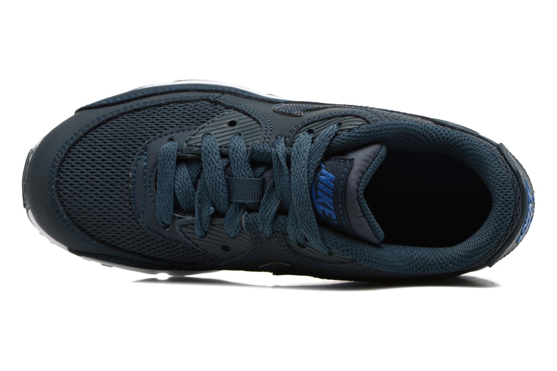 Deportivas Nike NIKE AIR MAX 90 MESH (PS) Azul vista lateral izquierda