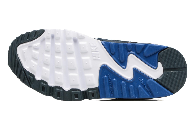 Baskets Nike NIKE AIR MAX 90 MESH (PS) Bleu vue haut