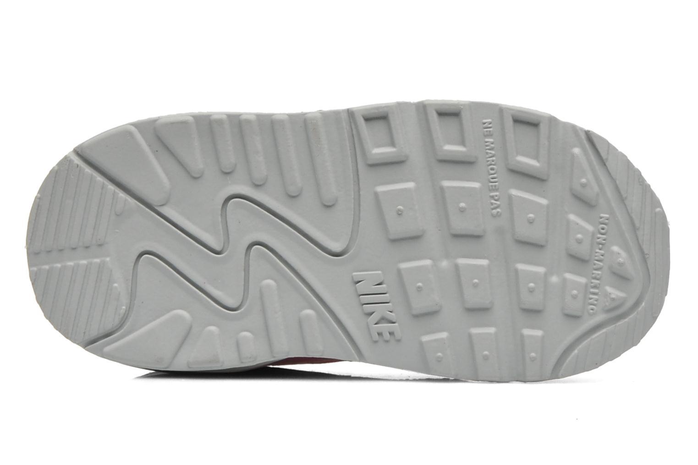 White/Royal Tint-White Nike NIKE AIR MAX 90 MESH (TD) (Blanc)
