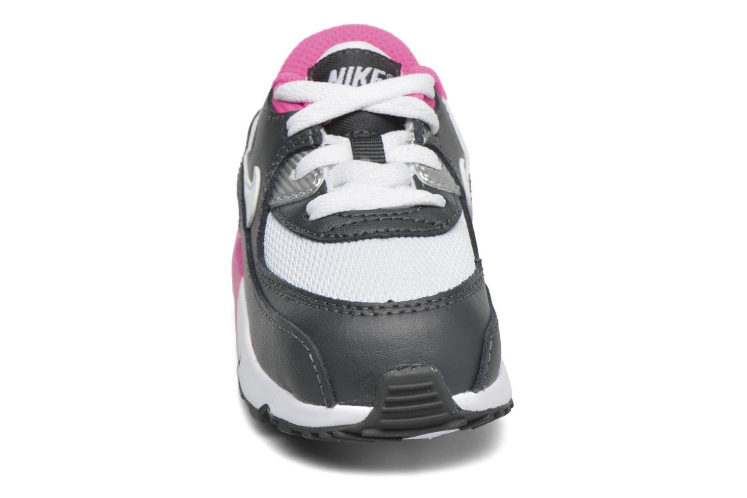 Trainers Nike NIKE AIR MAX 90 MESH (TD) Pink model view