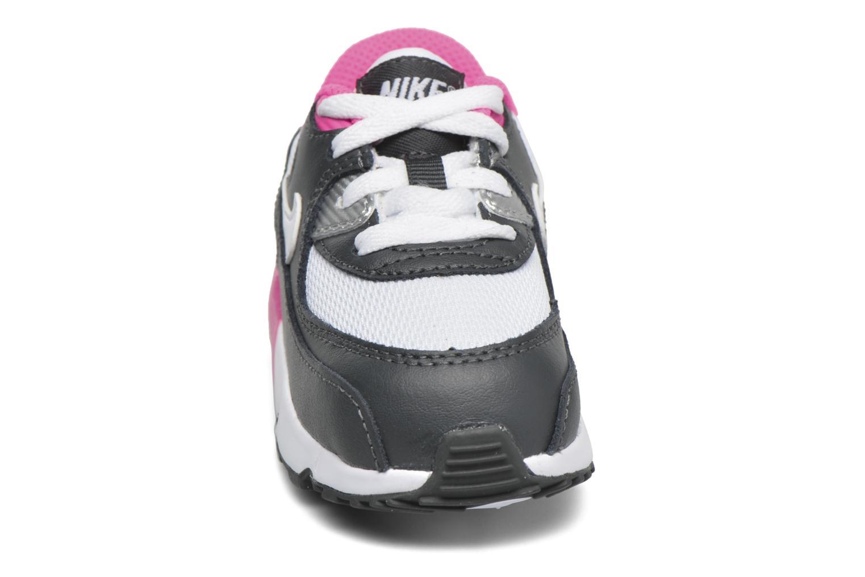 Baskets Nike NIKE AIR MAX 90 MESH (TD) Rose vue portées chaussures