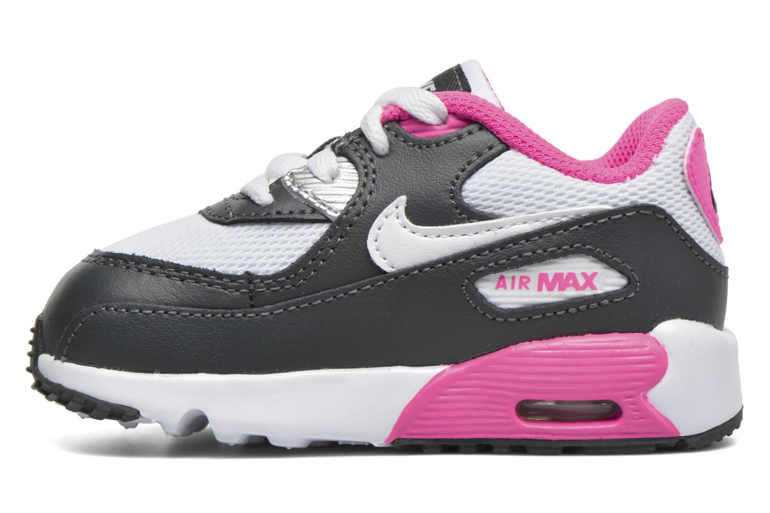 Trainers Nike NIKE AIR MAX 90 MESH (TD) Pink front view
