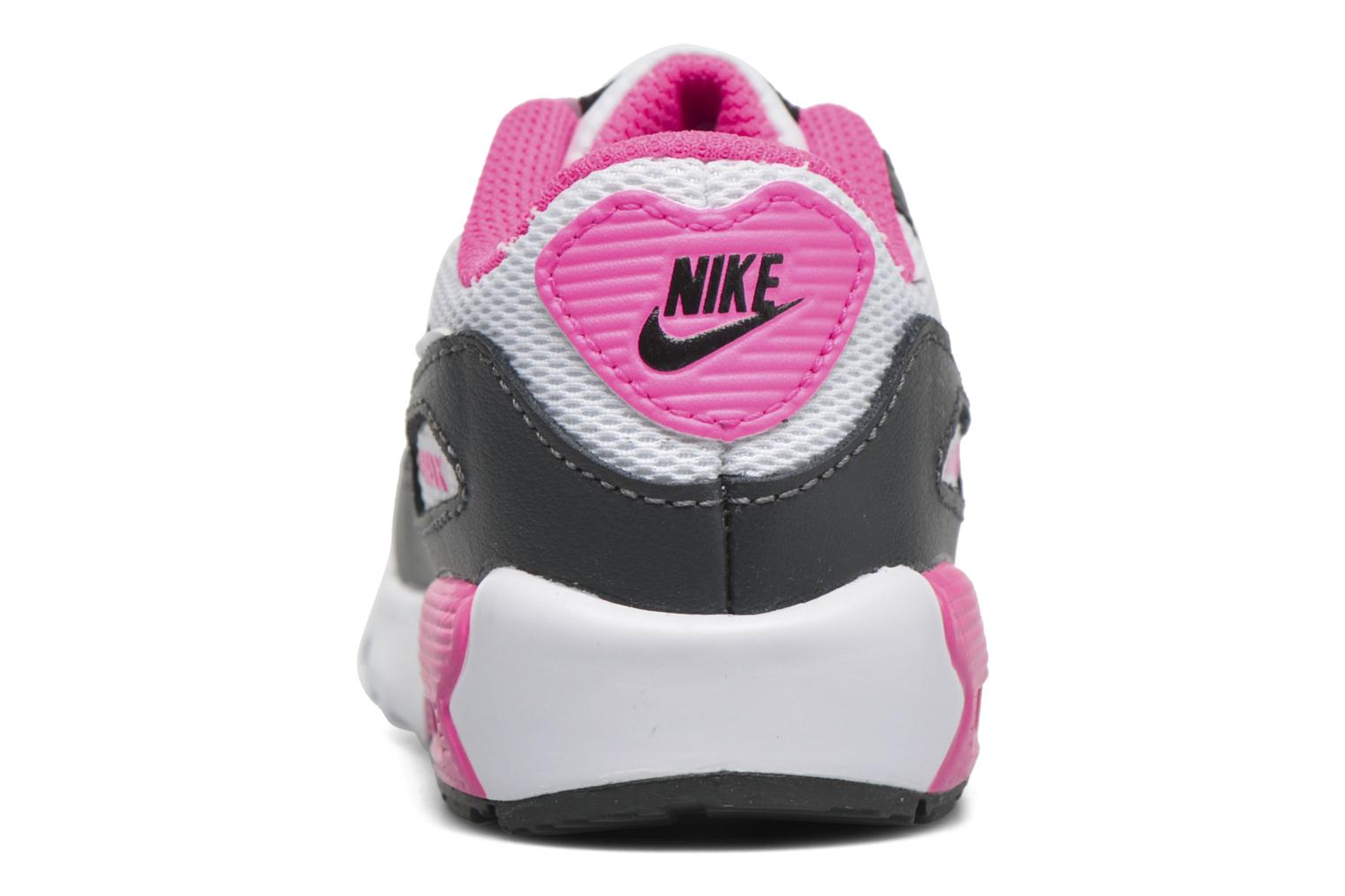 Trainers Nike NIKE AIR MAX 90 MESH (TD) Pink view from the right